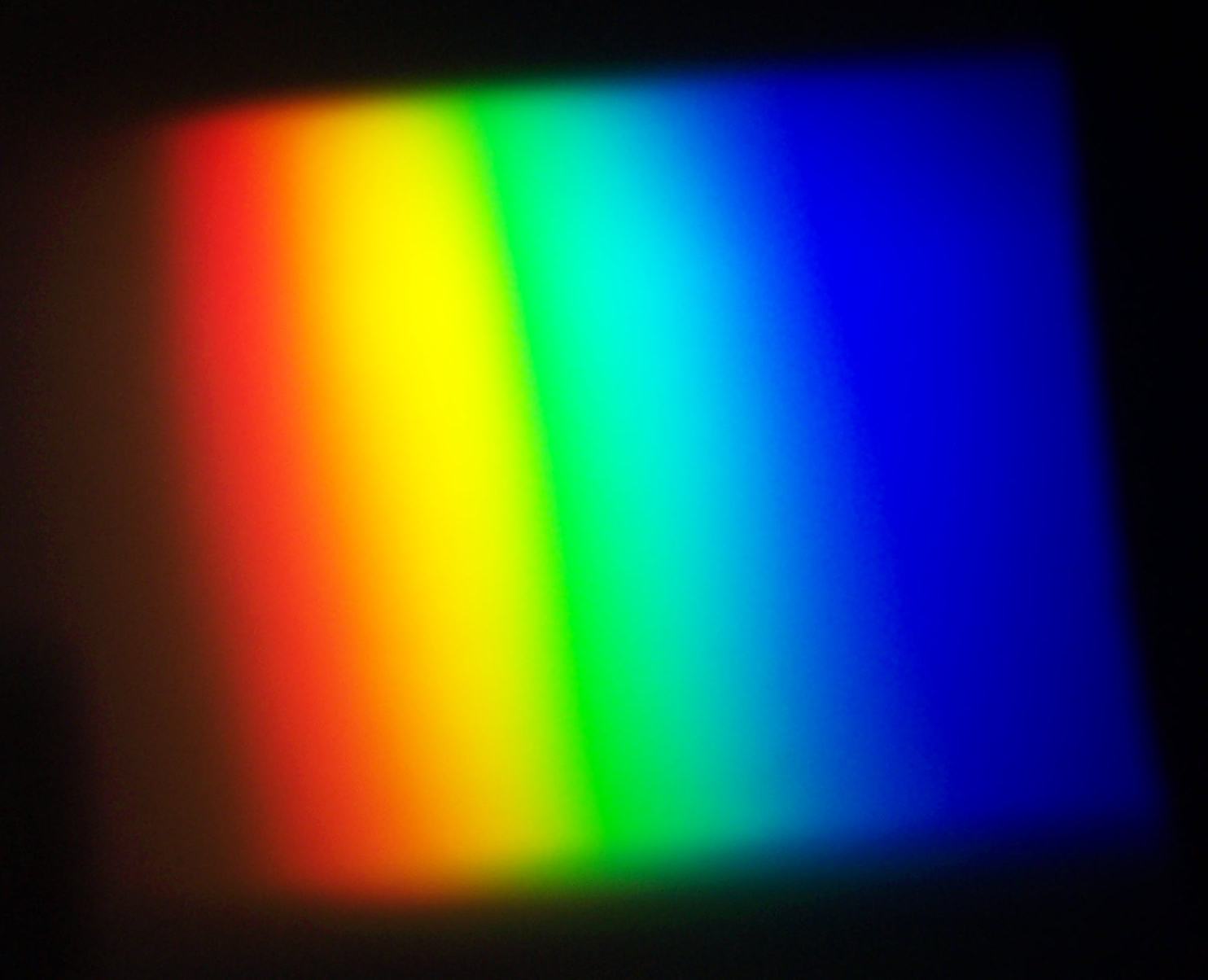 media This prism is made using optical glass and will demonstrate that light is made up of many colours.